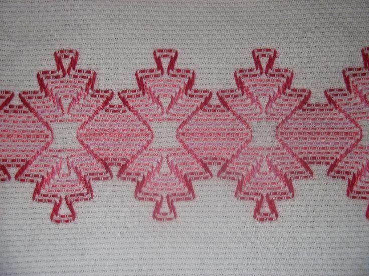 Detalhe bordado Vagonite  - Rosangela Dos Santos
