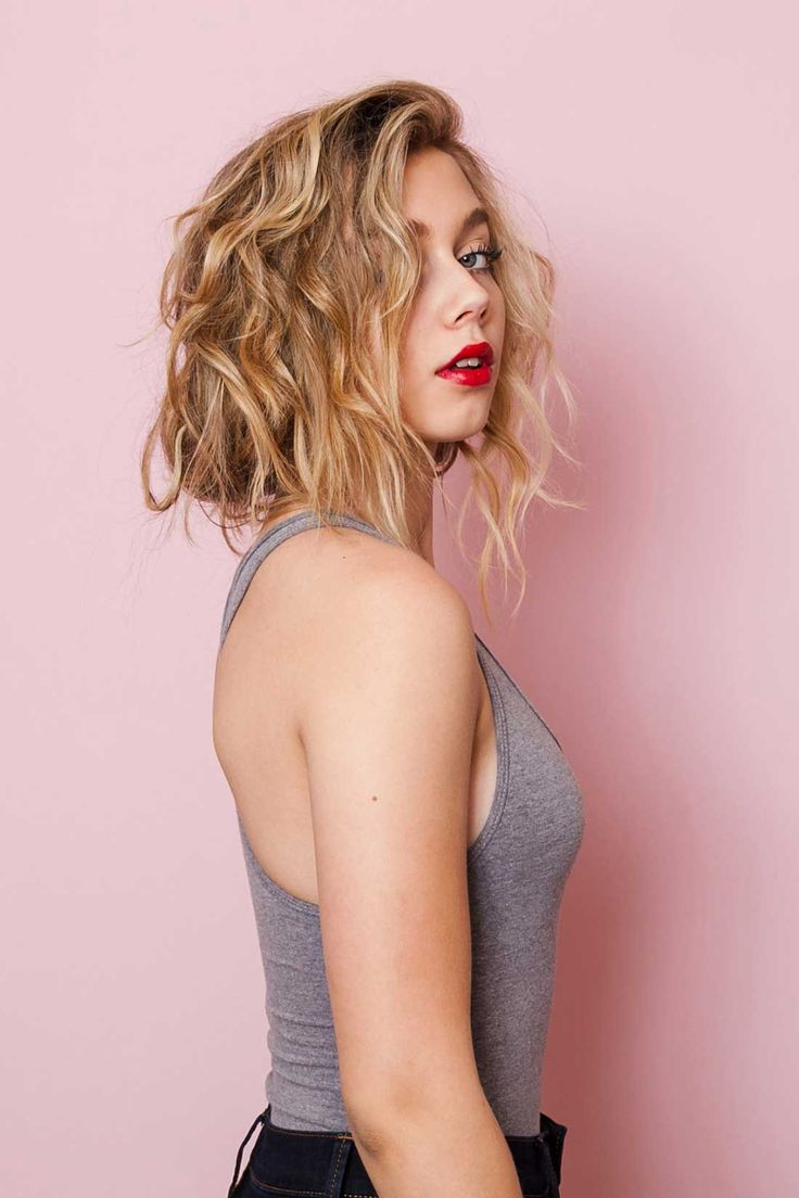 Get this faux bob look with this hair tutorial.