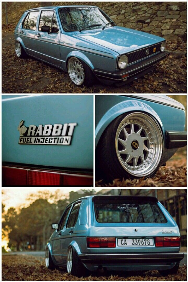 Volkswagen Golf Mk1 Rabbit GTi  #capestance Cape town, Western cape South africa #volkswagengolfclassiccars