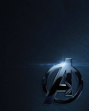 Avengers logo as background screen for Apple Watch. If you have an Apple Watch, this image will fit both Apple Watch size screens.