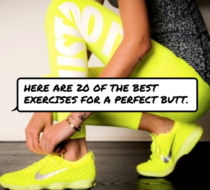 Here are 20 of the best #exercises for a perfect butt.