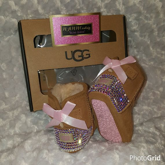 Bling UGGS, baby bling uggs, infant uggs, baby uggs, Swarovski UGGS, custom uggs Tap the link now to find the hottest products for your baby!