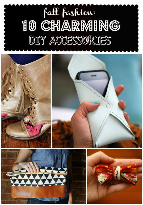 Fall Fashion: 10 charming DIY Accessories