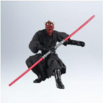 2012 - Hallmark Ornament - Sith Apprentice Darth Maul, Star Wars - Hallmark Keepsake Christmas Ornaments