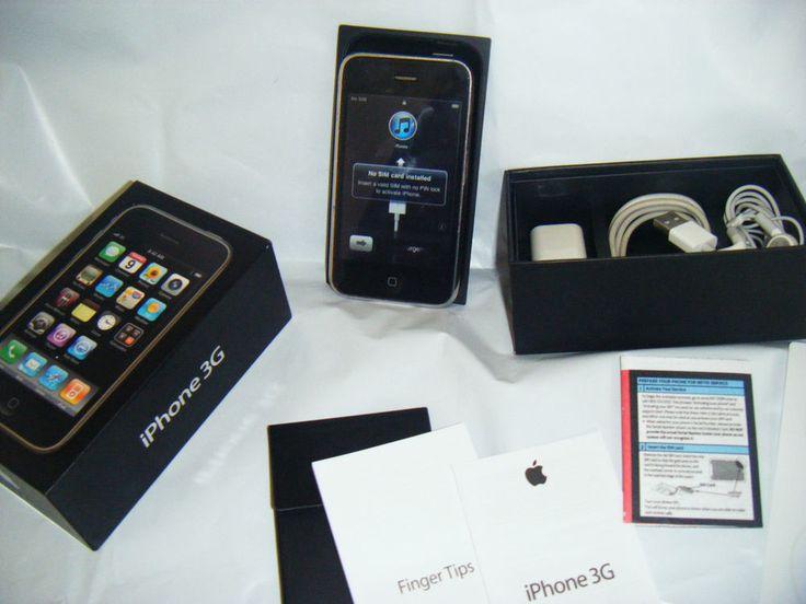 Apple iPhone 3G - 8GB - Black (Unlocked ) 4.2.1 AT&T-T-Mobile #Apple #iPhone3