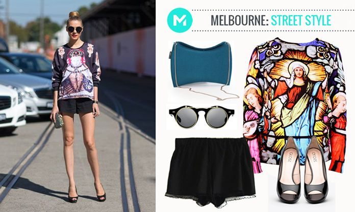 Fashion from the world: Merlbourne street style