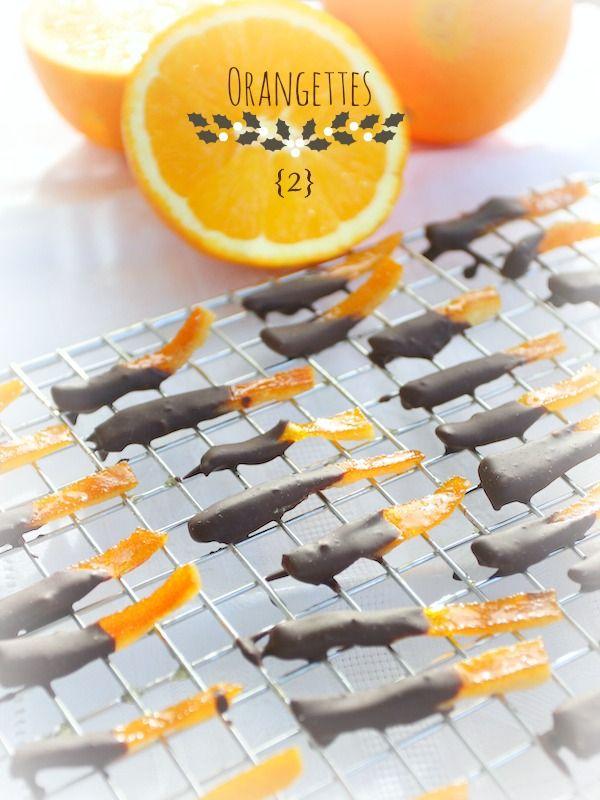 Orangettes - die 13 Weihnachtsdesserts