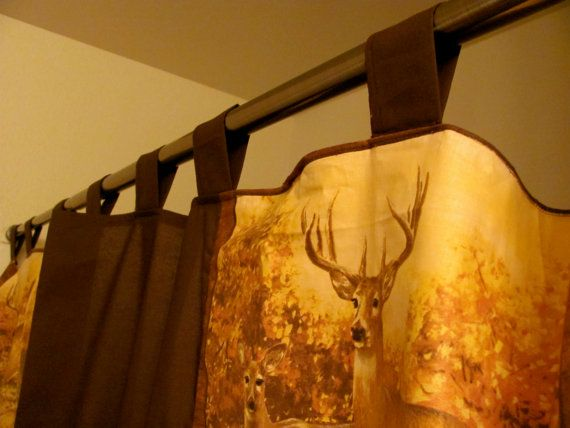 3 Days Only  Country Shower Curtain  Wildlife, Rustic, Deer, Outdoors,  Hunting, Home Decor