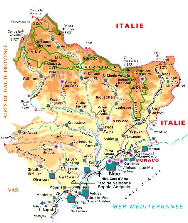 Département des Alpes Maritimes   Arts et Voyages