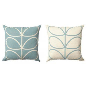 cushion  http://www.hurnandhurn.com/homeware-c1/soft-furnishings-c162/cushions-c163/orla-kiely-linear-stem-cushion-duck-egg-blue-p973