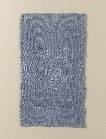 Sheila Hicks (1934-), Bumps and Whispers, 1988. (Stedelijk Museum, Amsterdam)