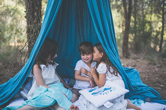Excited to share the latest addition to my #etsy shop: Kids Canopy,  playcanopy Blue and Grey /organic cotton hanging Tent upper part canvas fabric, kids tent, beds canopy