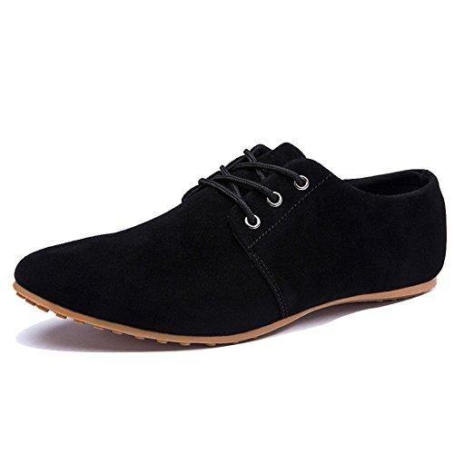 Oferta: 9.93€. Comprar Ofertas de Minetom Mocasines para Hombre Zapatilla Baja Estilo Británico Comodidad Cuero de Boda Con Cordones de Zapatos Planos de Vesti barato. ¡Mira las ofertas!