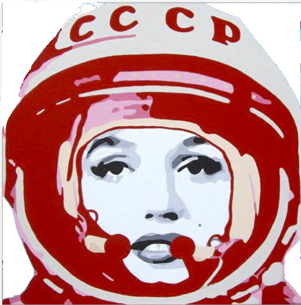 Marylin in Space