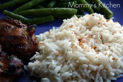 Mommy's Kitchen: Thai Coconut Rice & A Wonderful Mothers Day