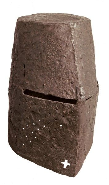 Heaume Pratteln, Castle Madeln, pre-1356 Iron, forged