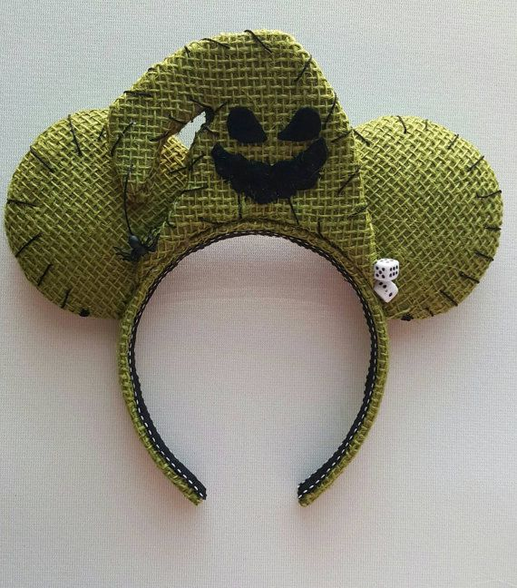 Oogie Boogie Nightmare Inspired Mouse Ears by DoodadsByDesign