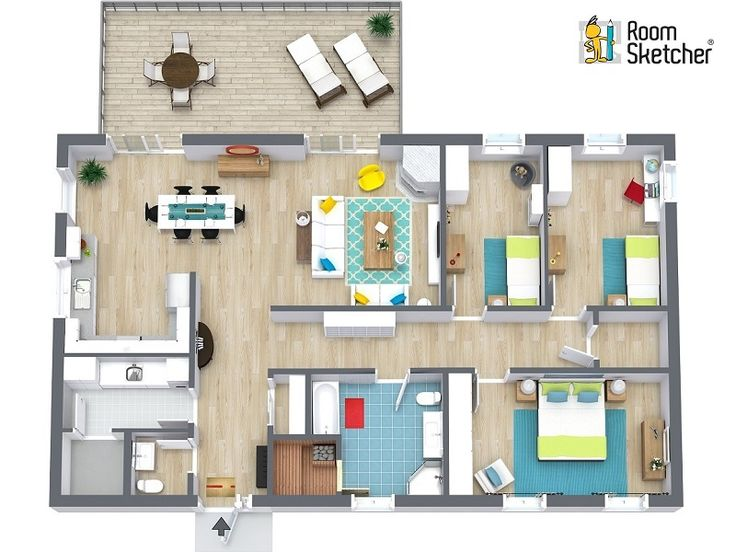 RoomSketcher Home Designer Is An Easy To Use Floor Plan And Home Design Tool