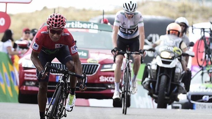 Nairo campeón de la Vuelta y Chaves es podio tras épica etapa