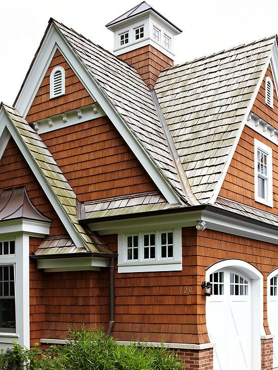 Great Garage Doors Shingle Siding Arches And Cedar Shingles