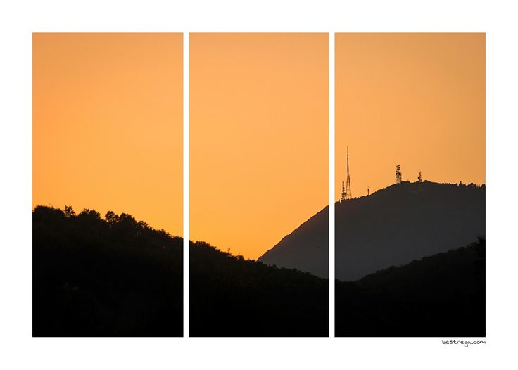 Tramonto sui Colli Euganei... A strisce ;) bestrega.com/stripes