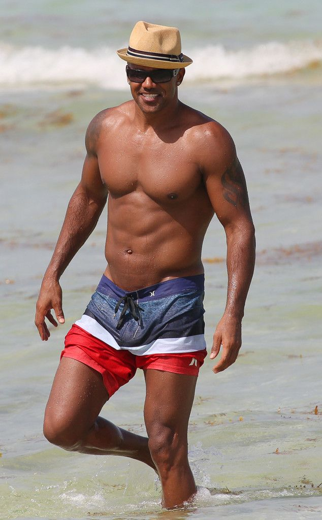 Shemar moore naked on beach are