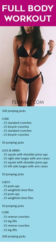 Full Body Workout at Home For Beginners Women No Equipment - Want a effective full body workout for women that you can simply do at home? Here is it!