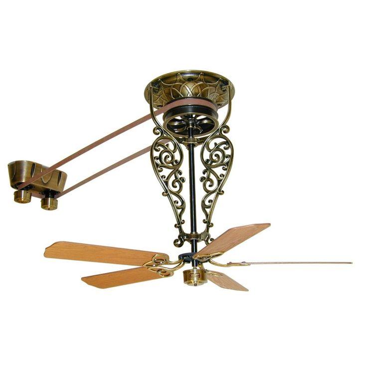 Best 25 belt driven ceiling fans ideas on pinterest - Belt driven ceiling fans ...
