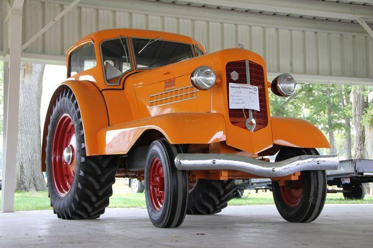 "Minneapolis Auto Show >> specialcar: ""1938 Minneapolis-Moline Comfortractor ..."