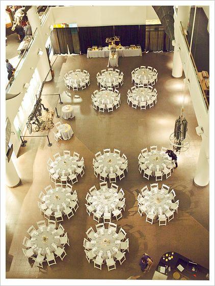 Reception Floor Layouts