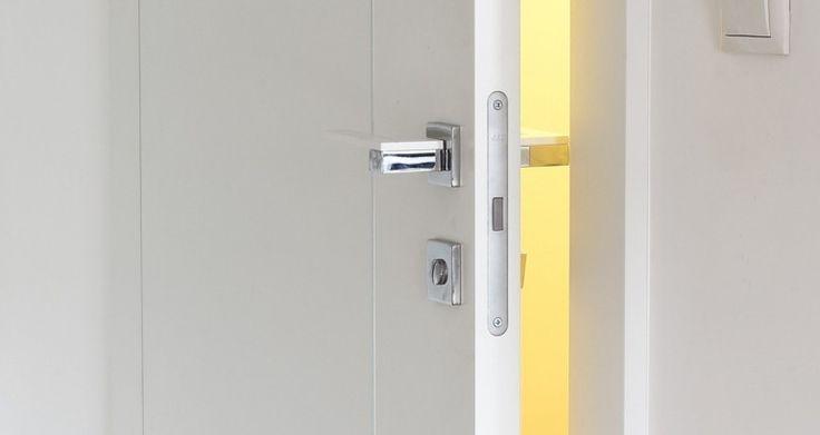 Nowoczesne białe drzwi marki Moric.
