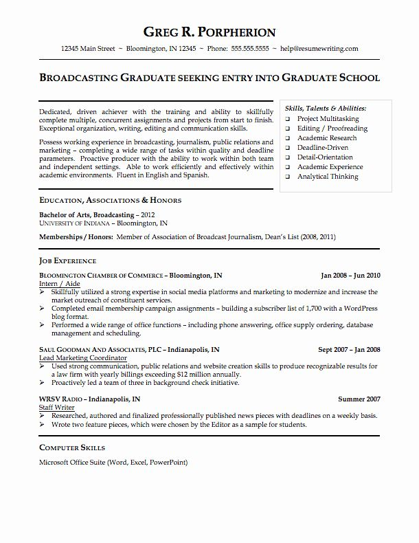 Resume Template For College Student Inspirational Sample Resumes Resumewriting In 2020 College Resume College Resume Template Student Resume Template