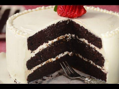 Chocolate Cake with Swiss Buttercream Recipe Demonstration - Joyofbaking.com - YouTube