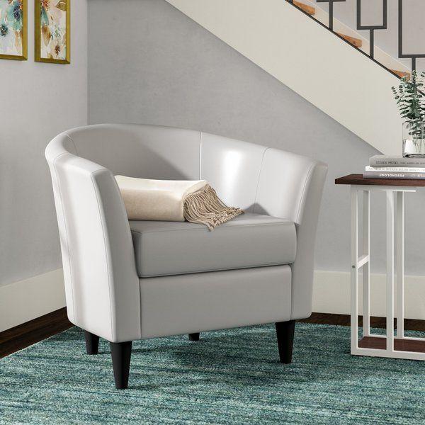 Zipcode Design Gaynell Barrel Chair Reviews Wayfair Barrel Chair Comfy Chairs Chair