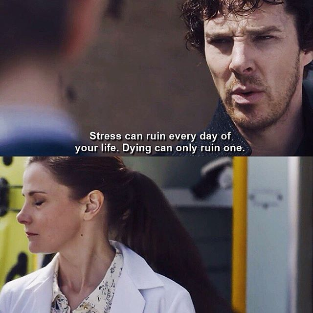 "Sherlock: ""I'm worried about you, Molly. You seem very stressed."" Molly: ""I'm stressed, you're dying!"" Sherlock Season 4 Episode 2 TLD S04 E02."