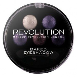 W Klubie Ekspertek możesz przetestować i ocenić Makeup Revolution Makeup Revolution Baked Eyeshadow Paleta 5 Wypiekanych Cieni do Powiek Electric Dreams (pinterest)