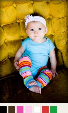 Website that sells plain colored onesies for babies and lace leggings $6.