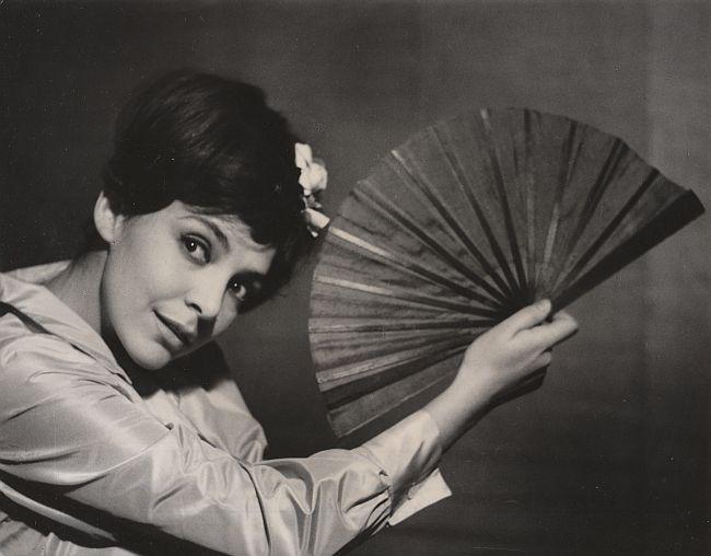 Marta Lipińska (Hanako)<br/> fot. Edward Hartwig