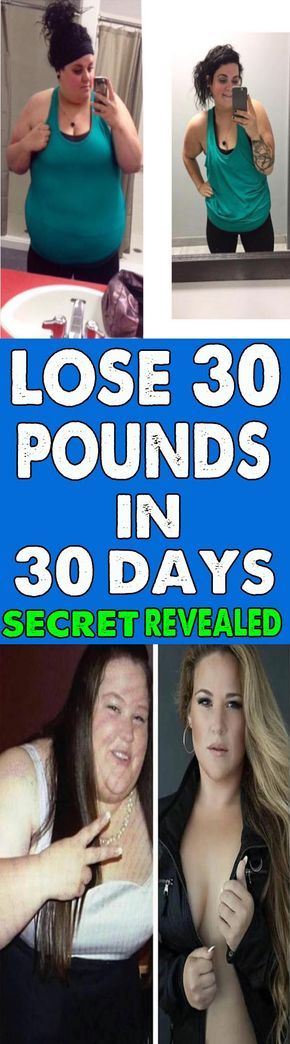 30lbs in 30 days challenge - How to lose 30 pounds in 1 month without exercise.