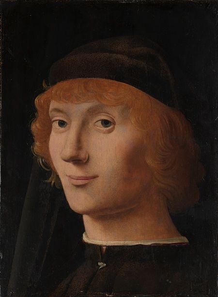 Antonello da Messina (Antonello di Giovanni d'Antonio): Portrait of a Young Man (14.40.645) | Heilbrunn Timeline of Art History | The Metropolitan Museum of Art