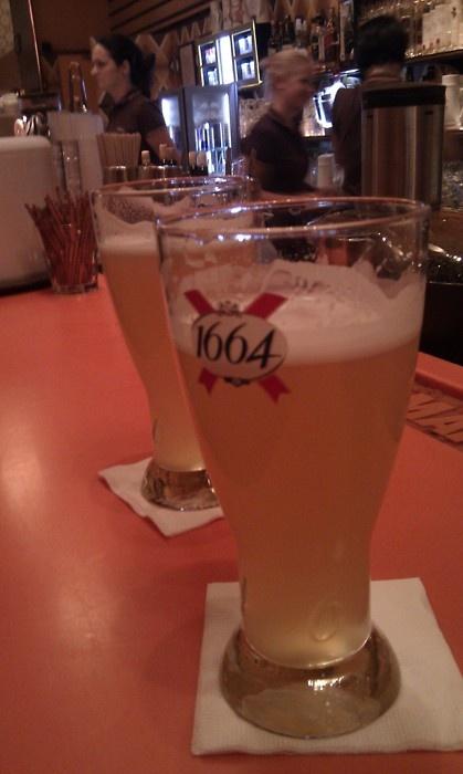 1664 Blanc. Hefeweizen/Wheat Beer. Strasbourg. Frankreich/France - Elsass/Alsac.