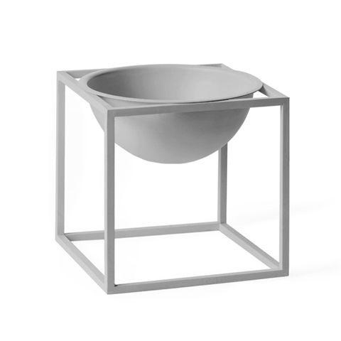 Kubus Bowl lille - By Lassen Grå