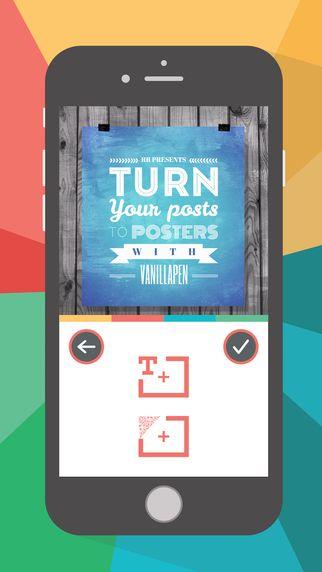 VanillaPen - Poster maker by RoadRocks. LLC