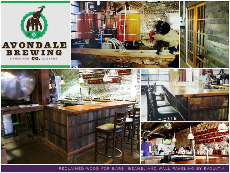 Avondale Brewery---Avondale---Birmingham, AL. Quality antique and reclaimed  lumber ... - 31 Best Images About Venues On Pinterest Tins, Pine Flooring And