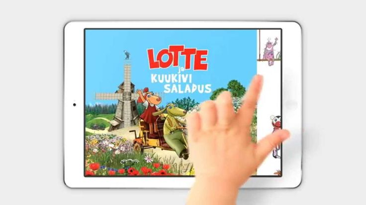 """""""Lotte ja kuukivi saladus"""" App"""