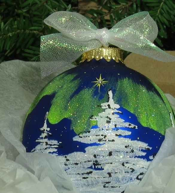hand-painted Christmas ornamentHandpainted White, Christmas Crafts, Painted Ornaments, Painting Bulbs, Christmas Ornaments, Christmas Trees, Hands Painting Christmas, Beach Wedding, Painting Ornaments