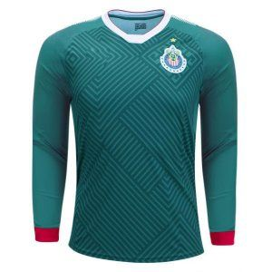 Chivas 2017-18 Season Third LS Shirt Jersey [L236]
