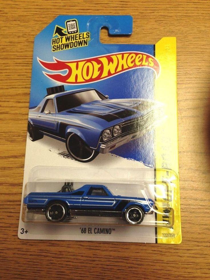 68 el camino blue 122 2015 hot wheels new release case b - Rare Hot Wheels Cars 2015