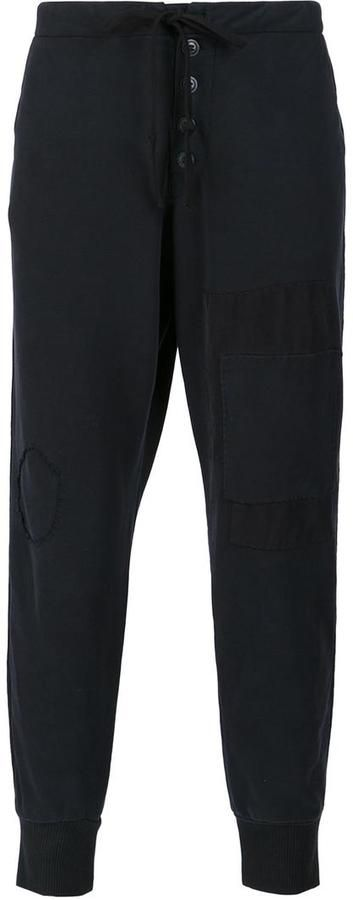 Greg Lauren loose fit track pants