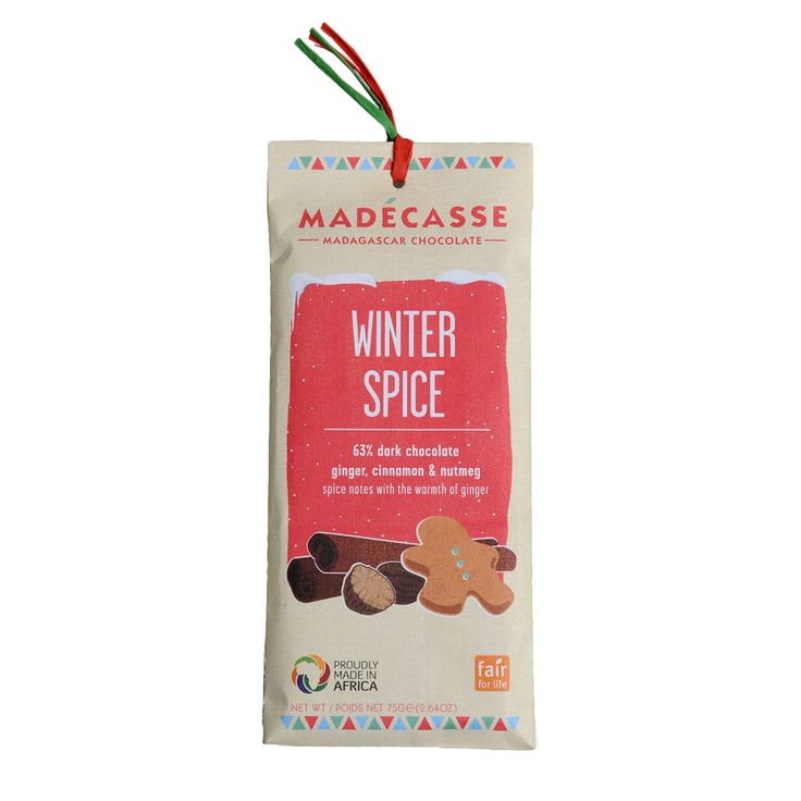 #chocolate #madecasse #spices   Dille & Kamille